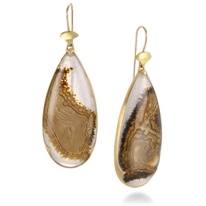 Gabriella Kiss Agate Earrings | Quadrum Gallery