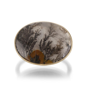 Gabriella Kiss Horizontal Oval Dendrite Ring | Quadrum Gallery