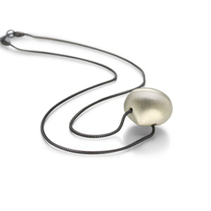 Gabriella Kiss Silver Hazelnut Necklace | Quadrum Gallery