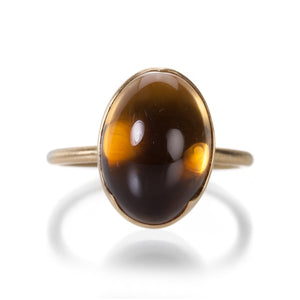 Gabriella Kiss Oval Citrine Ring | Quadrum Gallery