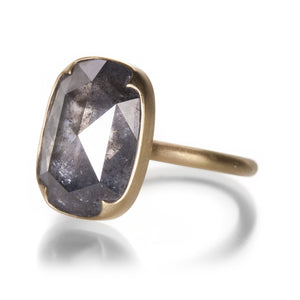 Gabriella Kiss Smoky Gray Rose Cut Diamond Ring | Quadrum Gallery