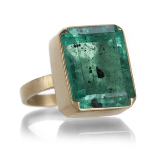 Gabriella Kiss Polonga Colombian Emerald Ring | Quadrum Gallery