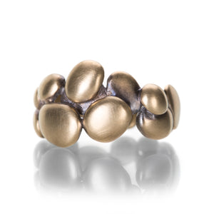 Gabriella Kiss 10k Gold Pile of Pebles Ring | Quadrum Gallery