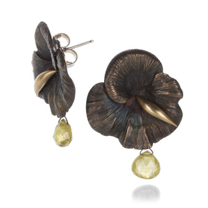 Gabriella Kiss Bronze Mushroom Earrings | Quadrum Gallery