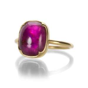Gabriella Kiss Pink Tourmaline and Mother of Pearl Ring | Quadrum Gallery