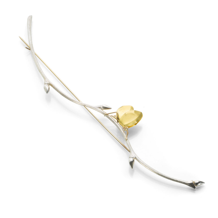 Gabriella Kiss Butterfly Branch Pin | Quadrum Gallery