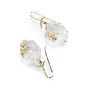 Gabriella Kiss Herkimer Crystal Earrings with Ants | Quadrum Gallery