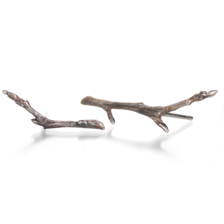 Gabriella Kiss Sterling Silver Branch Studs | Quadrum Gallery