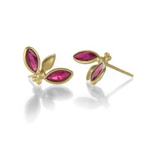 Gabriella Kiss Ruby Gem Bug Studs | Quadrum Gallery