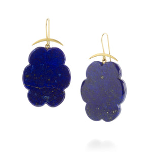 Gabriella Kiss Lapis Cloud Earrings | Quadrum Gallery