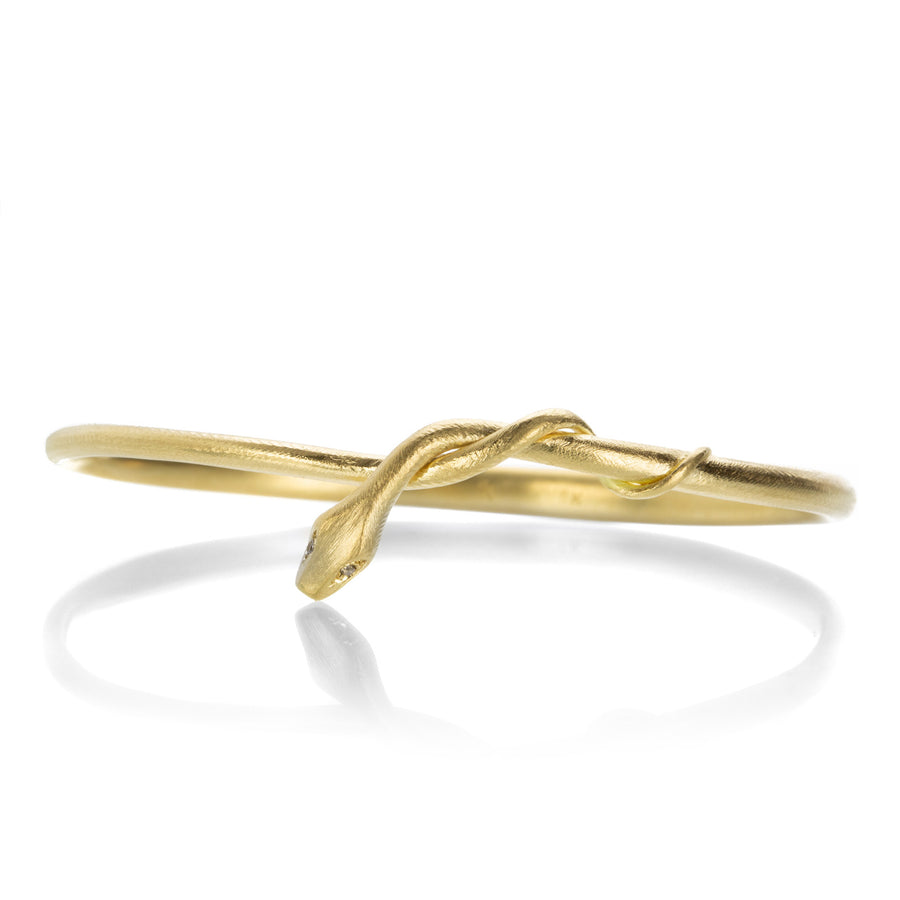 Gabriella Kiss Diamond Eyes Snake Bangle | Quadrum Gallery