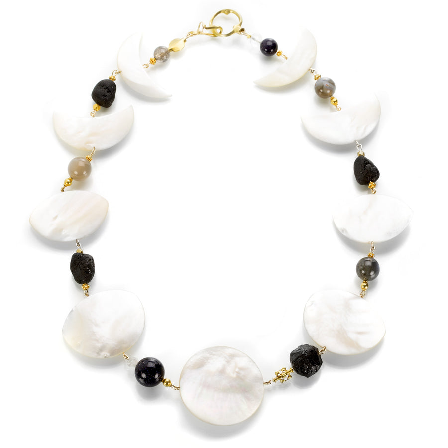 Gabriella Kiss Phases of the Moon Necklace | Quadrum Gallery