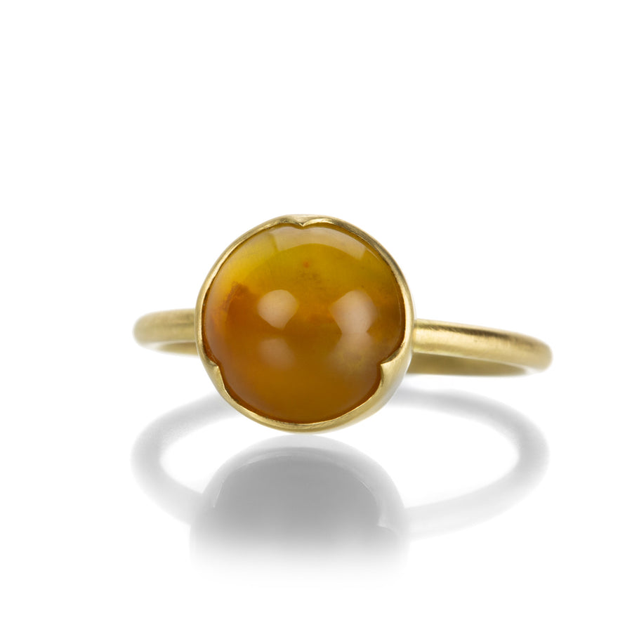 Gabriella Kiss Round Yellow Opal Ring | Quadrum Gallery