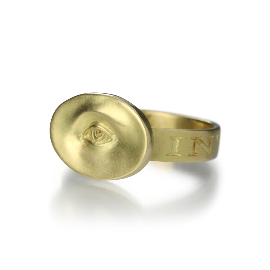 Gabriella Kiss Small Eye Ring 18k | Quadrum Gallery