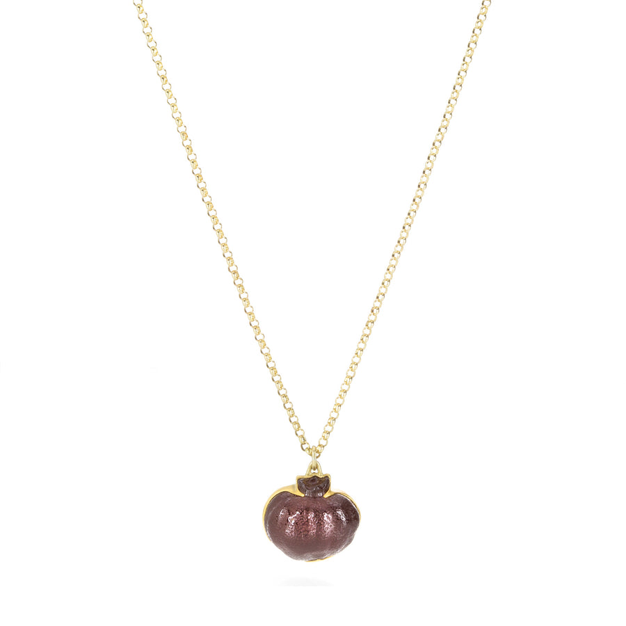 Gabriella Kiss Garnet Pomegranate Necklace | Quadrum Gallery