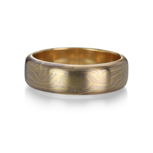 George Sawyer Tricolor Mokume Gane Band | Quadrum Gallery