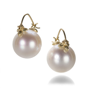 Gabrielle Sanchez South Sea Pearl Flyer Earrings | Quadrum Gallery