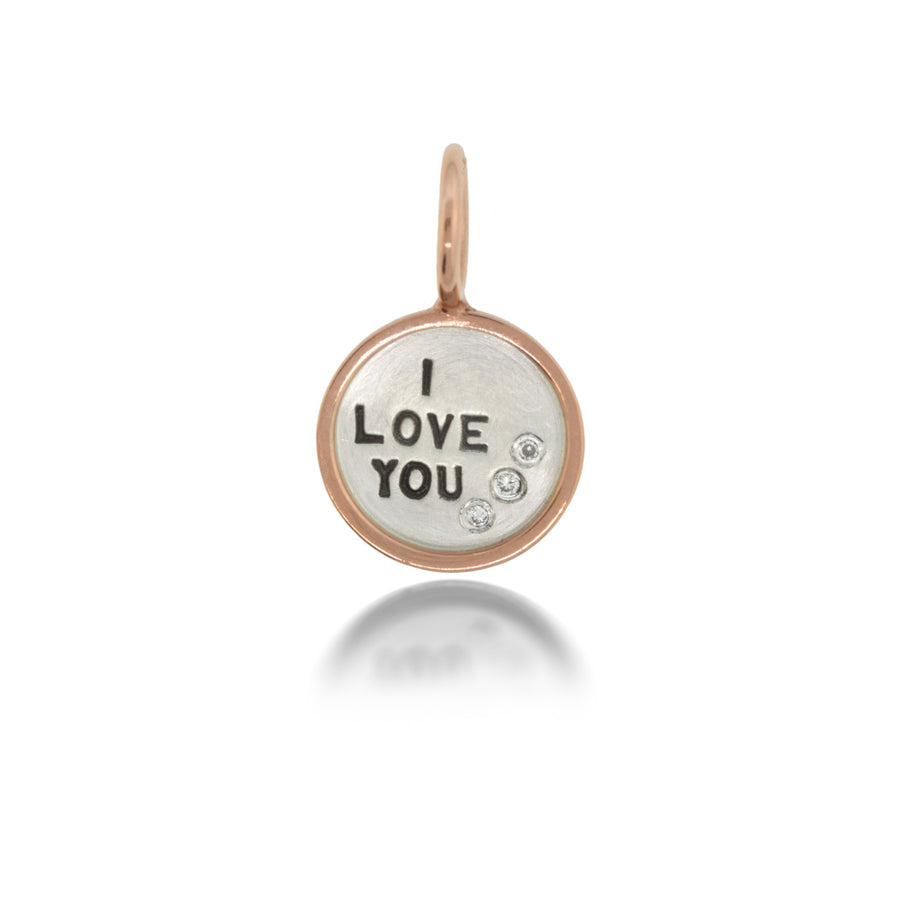 "Heather Moore ""I Love You"" Charm 