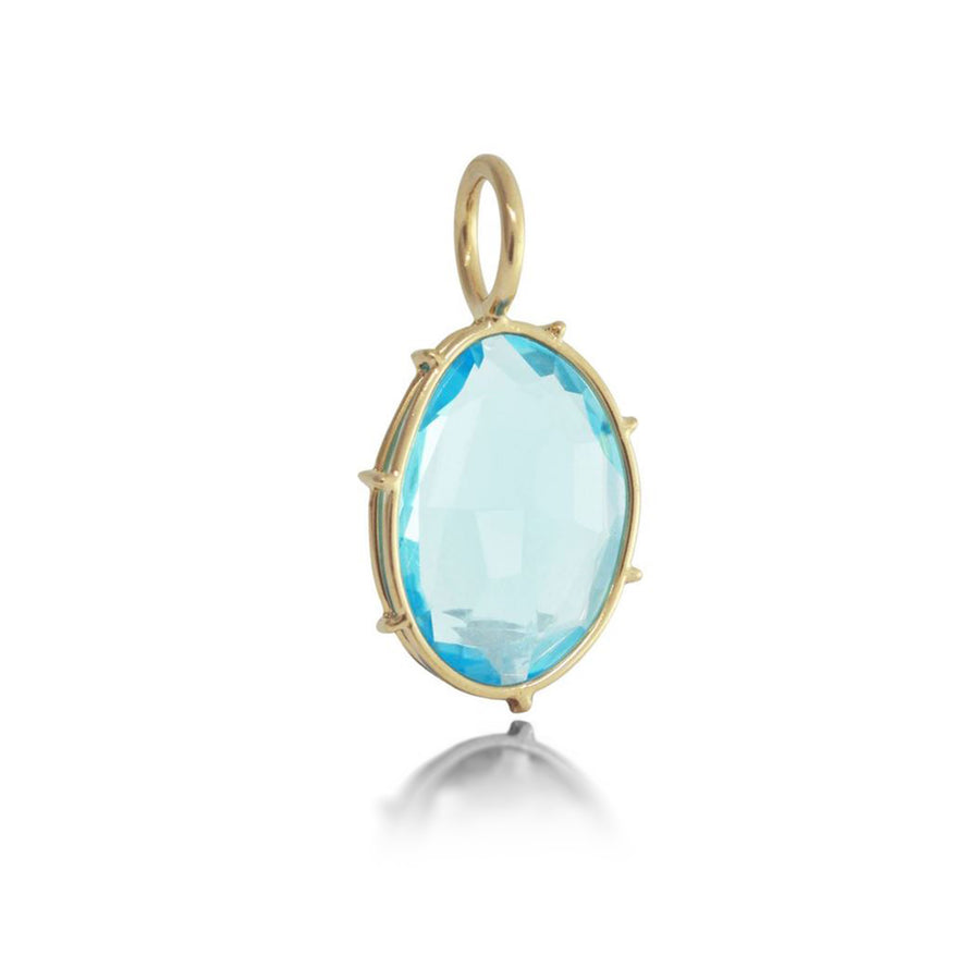 Heather Moore Sky Blue Topaz Harriet Charm | Quadrum Gallery