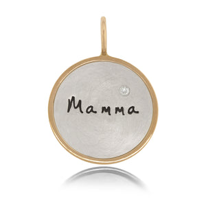 "Heather Moore ""Mamma"" Charm 