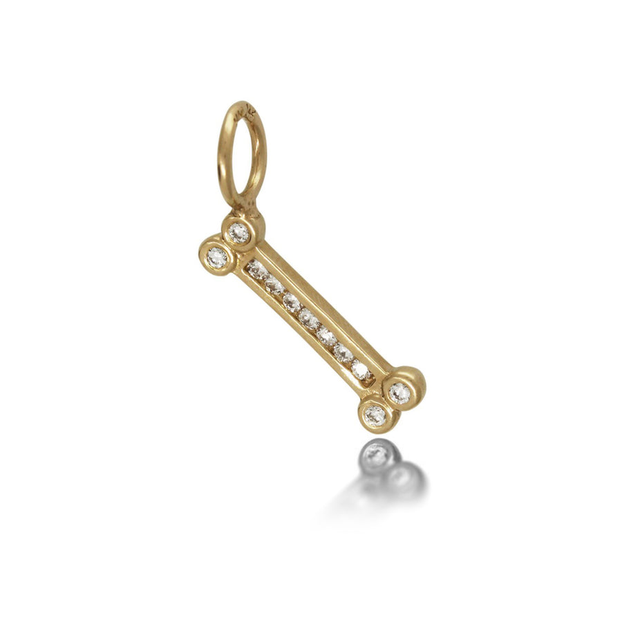 Heather Moore Diamond Dog Bone Charm | Quadrum Gallery