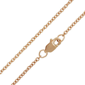 Heather Moore 1.5mm Rose Gold Chain - 20"