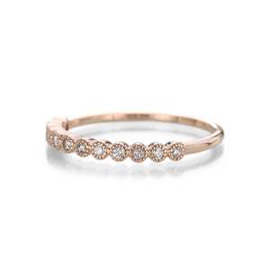 Julez Bryant Razz Half Eternity Band | Quadrum Gallery
