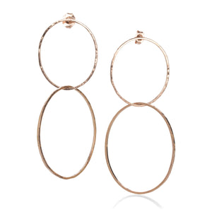 Julez Bryant Double Hoop Earrings | Quadrum Gallery
