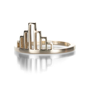 Julez Bryant Empire State Guard Ring | Quadrum Gallery
