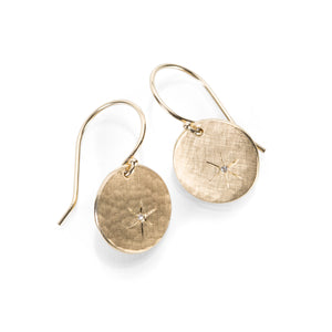 Julez Bryant Skip Round Medallion Earrings | Quadrum Gallery