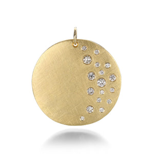 Julez Bryant Medium Mina Medallion with Diamonds | Quadrum Gallery