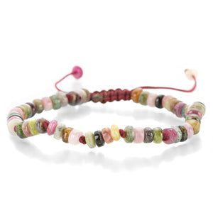 Joseph Brooks 5mm Smooth Multi-Color Tourmaline Bracelet | Quadrum Gallery
