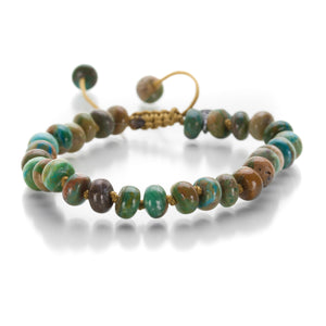 Joseph Brooks 8mm Peruvian Amazonite Bracelet | Quadrum Gallery