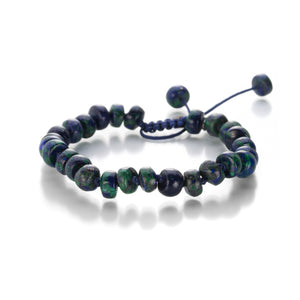 Joseph Brooks Azurite and Malachite Bracelet | Quadrum Gallery