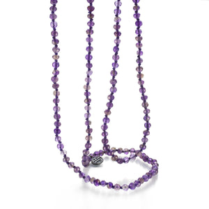 Joseph Brooks 3mm Amethyst Necklace | Quadrum Gallery