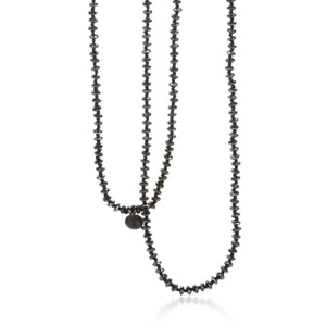 "Joseph Brooks 30"" Hematite Necklace 