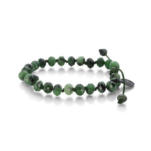 Joseph Brooks 8mm Faceted Zoisite Bracelet | Quadrum Gallery