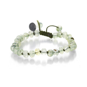 Joseph Brooks Smooth Prehnite Bracelet | Quadrum Gallery