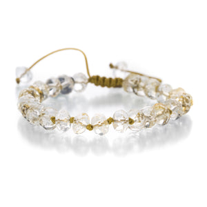 Joseph Brooks 8mm Citrine Bracelet | Quadrum Gallery