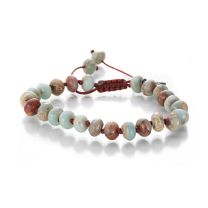Joseph Brooks 8mm Impression Jasper Bracelet | Quadrum Gallery
