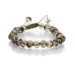 Joseph Brooks 8mm Smoky Quartz Bracelet | Quadrum Gallery