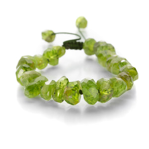 Joseph Brooks 10mm Peridot Bead Bracelet | Quadrum Gallery