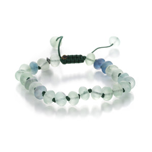 Joseph Brooks 8mm Smooth Green Flourite Bead Bracelet | Quadrum Gallery