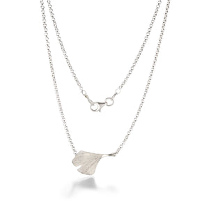 John Iversen Ginkgo Leaf Necklace | Quadrum Gallery