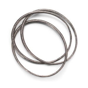 John Iversen Triple Oval Bangle II | Quadrum Gallery