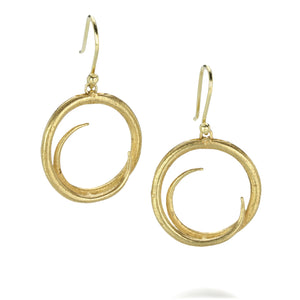 John Iversen Susan Earrings | Quadrum Gallery