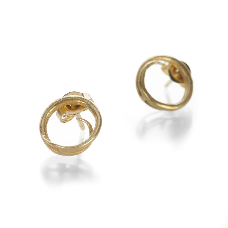 John Iversen Mini Swirl Earrings | Quadrum Gallery