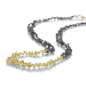 Silver & Gold Seed Necklace