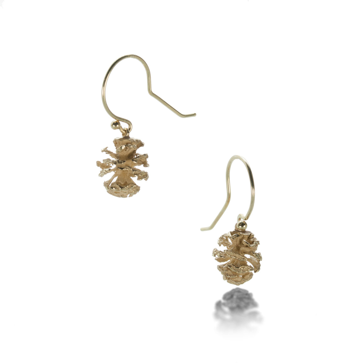 John Iversen Pine Cone Earrings | Quadrum Gallery