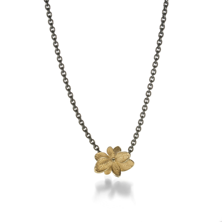 John Iversen Baby Hydrangea Twin Necklace | Quadrum Gallery